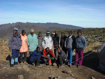 Besteigung des Mount Kilimanjaro