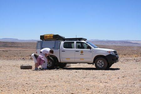 Auto fahren in Namibia