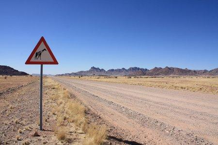 Straßen in Namibia