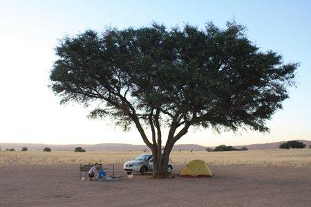 Camping bei Sossusvlei