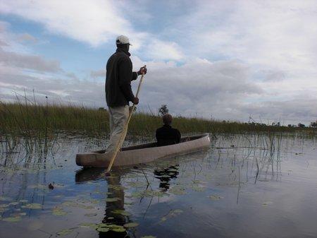 Mokorofahrt im Okavangodelta