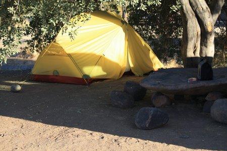 Zelten in Afrika