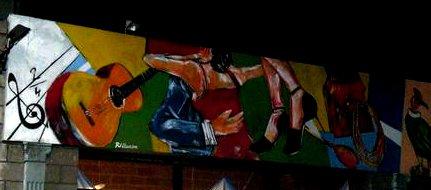 Tango-Graffiti in Buenos Aires