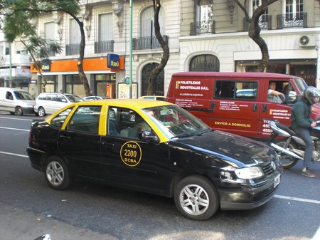 Taxi in Buenos Aires