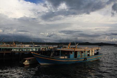Fischerboote in Kudat