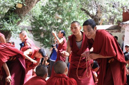 Mönche Tibet