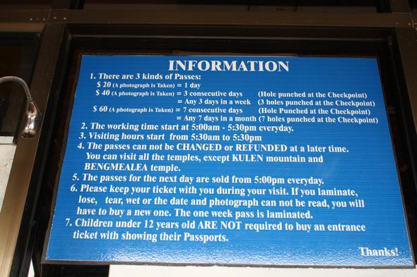 Infos Angkor Wat