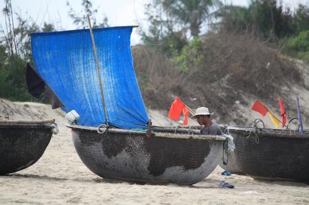 Fischerboot bei Hoi An