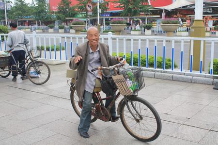 Fahhrad in China