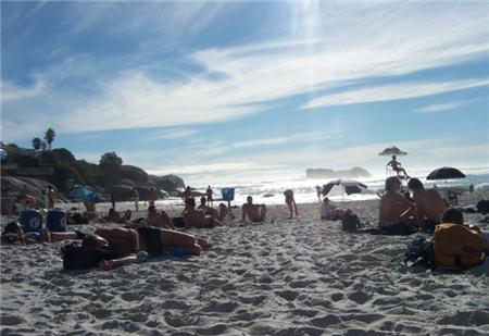 Sandy Bay in Llandudno Beach