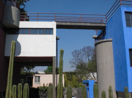 Sightseeing in Mexiko City - Museo Casa Estudio Diego Rivera y Frida Kahlo