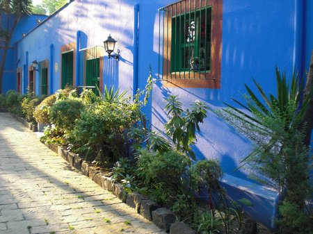 Sightseeing in Mexiko City - Casa Azul von Frida Kahlo