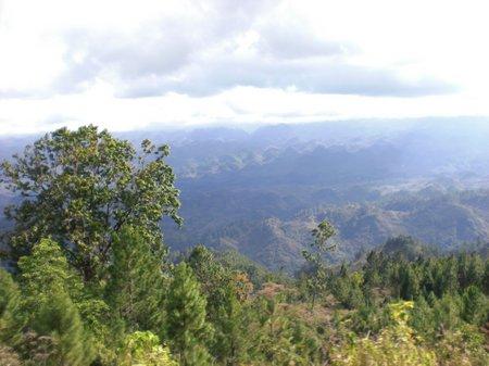 Busfahrt durch Guatemala