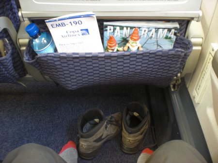 Copa Airlines Flugtest - Whiskey for free