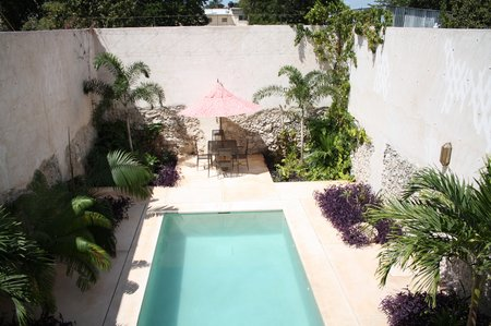 Eine mexikanische Haus- und Gartentour auf amerikanisch