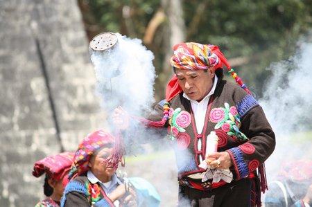 Die heilenden Bräuche der Mayas