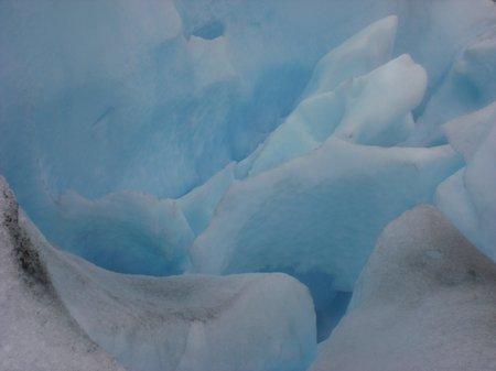 Gletscherwasser des Perito Moreno Gletschers bei El Calafate