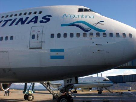 Boeing 747 von Aerolineas Argentina