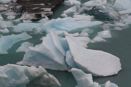 Eisquaader des Perito Moreno Gletschers im Süden Patagoniens