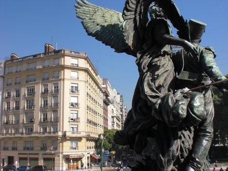 Stadtansichten in Buenos Aires