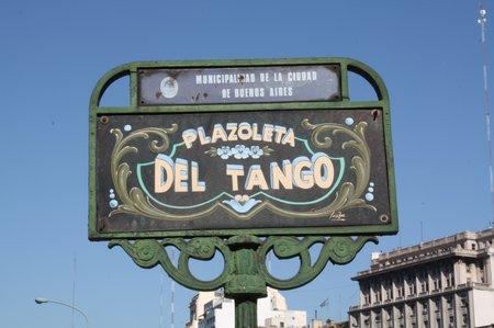 Stadt des Tango