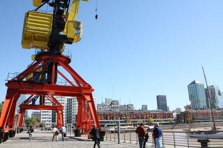 Hafen in Buenos Aires