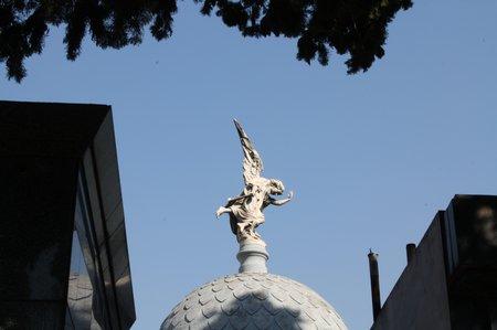 Friedhofsansichten - La Recoleta in Buenos Aires