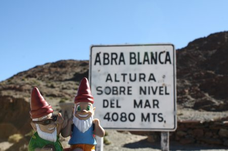 Die Gnomads auf 4.000 Meter Höhe
