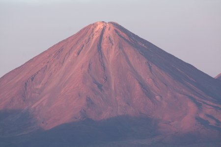 Sonnenuntergang in der Atacama Wüste