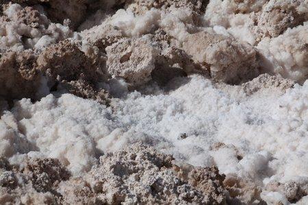 Salz in der Atacama Wüste