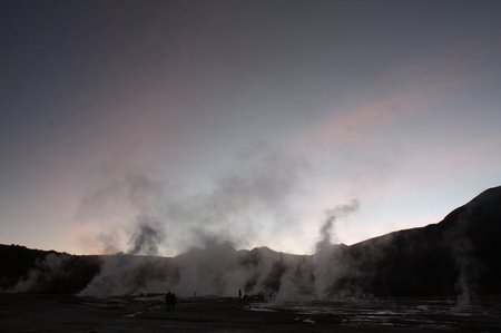 Tatio Geysire in Chile
