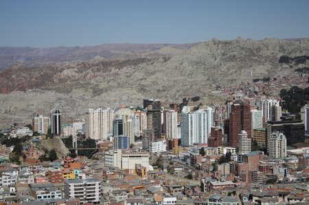 Sightseeing in La Paz