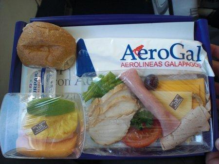 Frühstück bei AeroGal