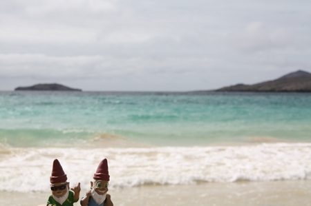 Gnomads am Strand