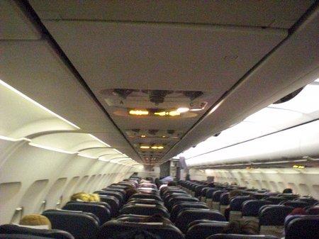 Im Airbus A 319 vo LAN.com