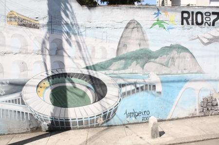 Grafiti in Rio