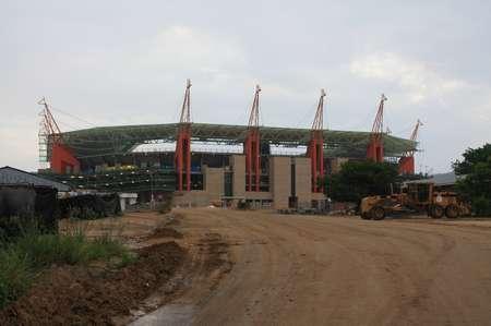 Fußballstadion von Nelspruit
