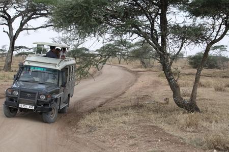 Jeep im Serengeti Park