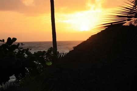 Sonnenaufgang in Sansibar