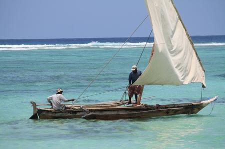 Fischer auf Sansibar