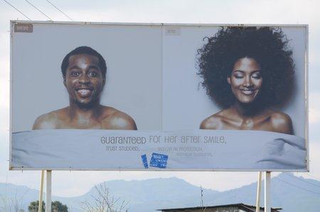 Werbung für Kondome in Swaziland