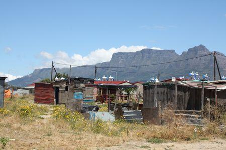 Township in Südafrika
