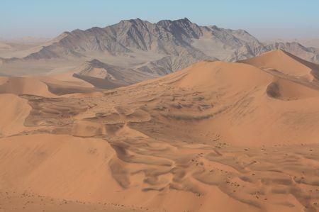 Wüste bei Sossusvlei