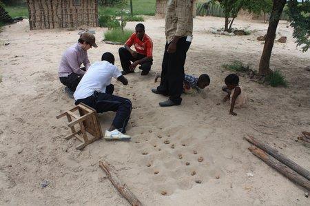 Dorfleben in Afrika