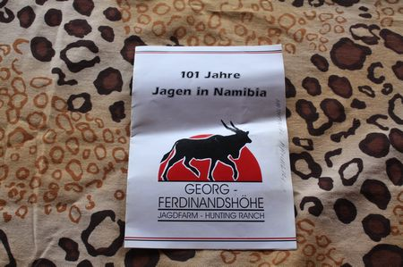 Jagen in Namibia