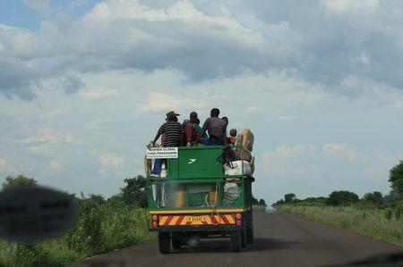 LKW in Afrika