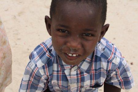 afrikanisches kind