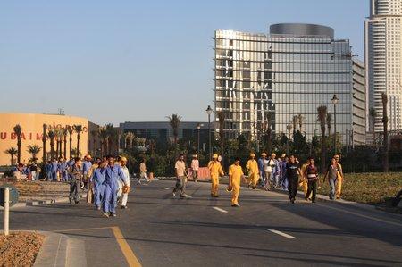 indische arbeitskräfte in dubai