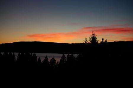 Sonnenaufgang Lake Pukaki