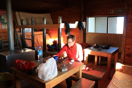 Ketetahi Hut, Tongariro Nationalpark